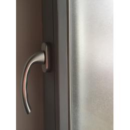 Okenní fólie, bezbarvá, matná pro zajištění soukromí 90 x 50cm