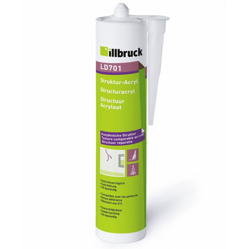 Strukturální akryl   LD701   illbruck
