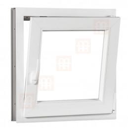 Plastové okno 60 x 60 cm, otváravé aj sklopné, biele, pravé