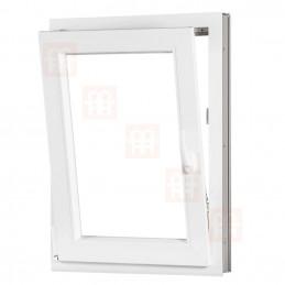 Plastové okno 60x100 cm, otváravé aj sklopné, biele, ľavé