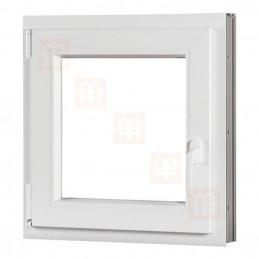 Plastové okno 120x120 cm, otváravé aj sklopné, biele, ľavé