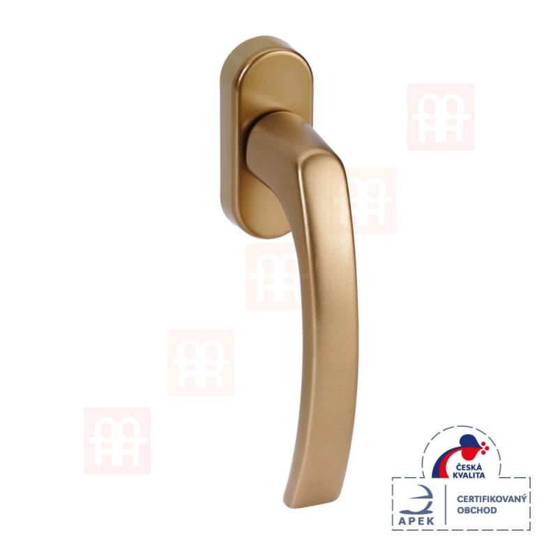 Hliníková okenná kľučka | bronzová