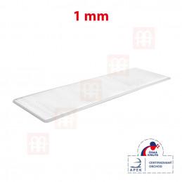Vymezovací plastová podložka 28 x 100 x 1 mm