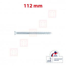 Turbo skrutka 112 mm