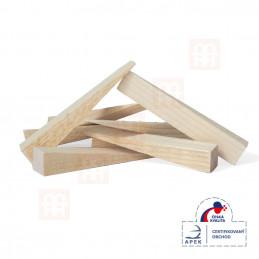 Montážne drevené klinky 150x25x25-1mm
